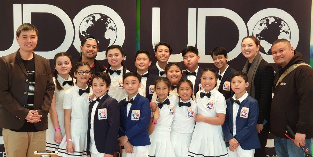 Consul Rogelio Villanueva, Jr. and his wife Anna pose with members of the Filipino-German Dance Team which competed during the United Dance Organisation (UDO-Germany) Championships in Congresscentrum Pforzeim last April 13. Also in the picture is Mr. Kevin Orteza, proud parent of two members of the team.