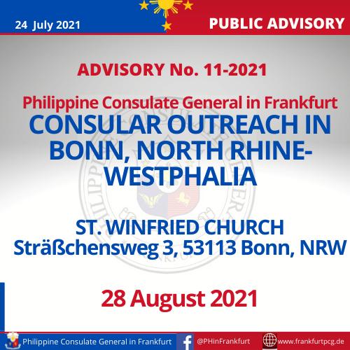 Advisory No. 11-2021 P1